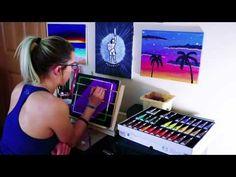 https://youtu.be/pqHGiTYaxuo painting CarlieCreates acrylic timelapse how to paint logo design