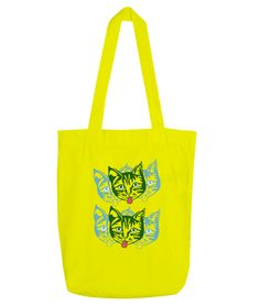 A range of apparel and tote-bags designed by Mollycat of Finland. Cat Bag, Yellow Cat, Pin Pics, Finland, Reusable Tote Bags, Range, Design, Cookers, Design Comics