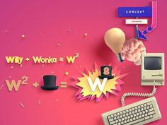 WILLY WONKA | Remix and Revisited on Behance