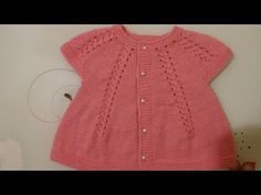 Yakadan Başlamalı Burgulu Bebek Yeleği - YouTube Crochet For Kids, Crochet Baby, Baby Cardigan, Baby Knitting, Knitting Patterns, Baby Kids, Summer Dresses, Sweaters, Women