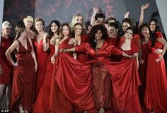 Heart Truth Red Dress Collection 2012 Fashion Show