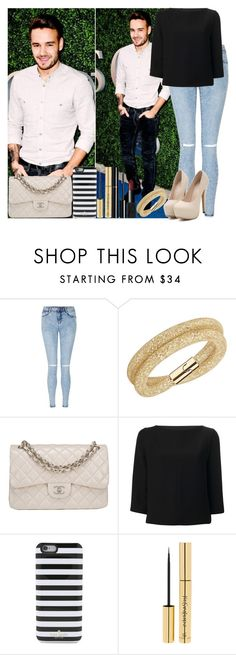 """Liam Payne"" by irish26-1 ❤ liked on Polyvore featuring Payne, Swarovski, Chanel, Balenciaga, Kate Spade, Yves Saint Laurent and NARS Cosmetics"