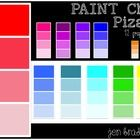 Paint Chip Clip Art Free ~ Foldable & Interactive Journal Use ~  ClipArt FREE