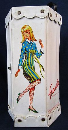 1965 Francie Doll Case  LOVED MINE*