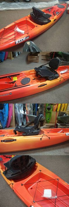 Kayaks 36122: 2015 Wilderness Systems Ride 135 Advance Fishing Kayak W/High Seat Demo Model BUY IT NOW ONLY: $829.0