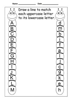 Letter Tracing Worksheets For Kindergarten – Capital Letters – Alphabet Tracing – 26 Worksheets / FREE Printable Worksheets – Worksheetfun Tracing Worksheets, Free Printable Worksheets, Printable Alphabet, 3 Year Old Worksheets, Free Printables, Summer Worksheets, Matching Worksheets, Handwriting Worksheets, Handwriting Practice