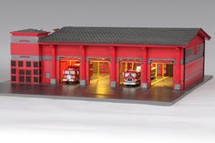 fire station diorama - Google Search