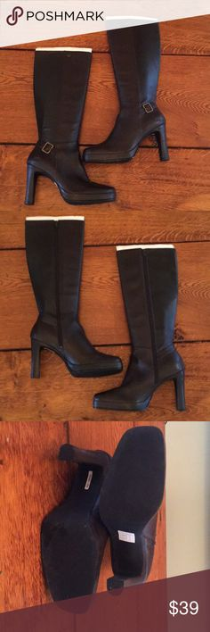 Sketchers Knee-high Boots Sz 8 (see description) NWOT see photos for scuffs and damage on one heel. Shoes Winter & Rain Boots