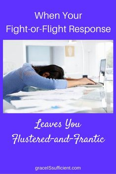 When Your Fight-Or-Flight Response - Grace IS Sufficient Chronic Fatigue Syndrome, Chronic Illness, Chronic Pain, Mental Health Conditions, Mental Health Problems, Fight Or Flight Response, No Response, Flight Quotes, Fibromyalgia Causes