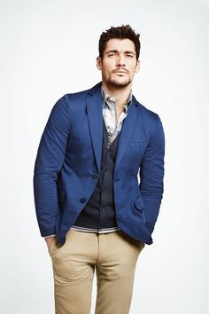 David Gandy for PKZ Spring Summer 2011