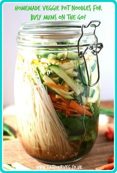 Eat Your Veg | Homemade Veggie Pot Noodles
