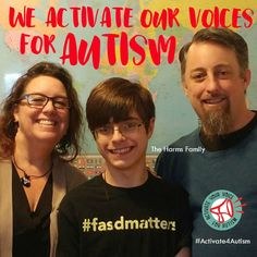 """""""People like me who have autism act differently. I think we shouldn't be pick on because we're different. I think we should be respected for who we are. We activate our voices for acceptance. We activate our voices for inclusion. We activate our voices for autism."""" https://geekclubbooks.com/activate4autism/?utm_campaign=coschedule&utm_source=pinterest&utm_medium=Geek%20Club%20Books&utm_content=%23Activate4Autism%20to%20Speak%20Out%20for%20Acceptance%21%20%7C%20Geek%20Club%20Books"""