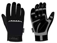 Tactical Lites – Work and Tactical Gloves with LED Lights  Each is touchscreen enabled with a Velcro pocket then further; form fitting, reinforced where needed, padded, offer a secure grip, zero bunching and are breathable. http://nechstar.com/tactical-lites-gloves/