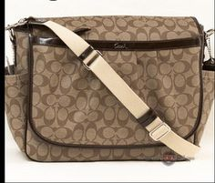 COACH BABY BAG! Girly Things, Girly Stuff, Baby Things, Louis Vuitton Monogram, Louis Vuitton Damier, Satchel, Crossbody Bag, Little Fashionista, Baby Bags