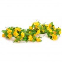 Bloemslinger fietsslingers geel