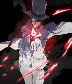 Tags: Fanart, Kaitou Kid, Pixiv, IDEA FACTORY, Kuroba Kaito, Pandora, Tosyoen, Magic Kaito
