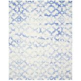 Found it at Joss & Main - Tracy Rug in Ivory & Blue