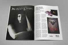 Margo Chase Page Spread by Sada Sanchez, via Behance