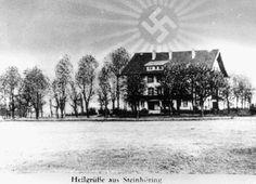 "1937 postcard from ""Lebensborn-Heim ""Hochland"" in Steinhöring, Germany."