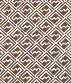 Premier Prints Shakes Italian Brown Drew Fabric - $8.45   onlinefabricstore.net