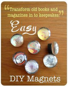 DIY Tutorial: Magnets / DIY Magnets - Bead