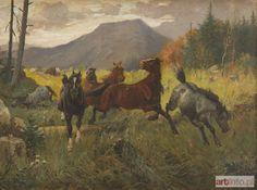 Józef JAROSZYŃSKI ● Konie ●