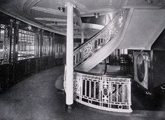 Kronprinzessin Cecilie's First Class Grand Staircase