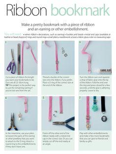 Tutorial: Ribbon bookmark