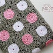Crochet Polka Dot Blanket 061 - via @Craftsy