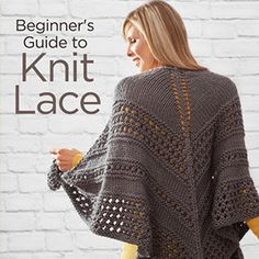Free tutorial on how to knit lace from Red Heart http://www.anrdoezrs.net/links/7729443/type/dlg/http://www.redheart.com/learn/articles/beginners-guide-knit-lace #ad