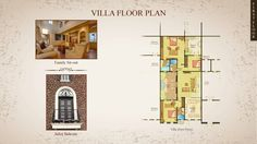 Floor Plan of Villa, Properties in Baner - Westernhills, Acres of open space in 40 acres of Gated Community