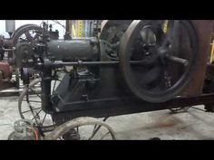7 HP Allen hot bulb hit miss engine