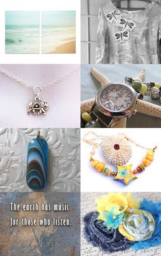 For Me- It's By the Sea.... Happy Summer 2016 by Jessica on Etsy--Pinned with TreasuryPin.com