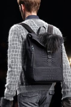 Fendi Men's Fall/Winter 2014-15 Collection Close Up 32