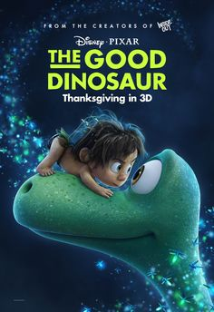 """Meet Arlo and Spot, stars of """"The Good Dinosaur."""" See it in 3D November 25."""
