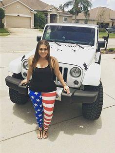 Barefooted Jeepgirls