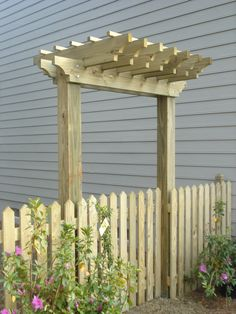 Garden Arbor Ideas vegetable garden arbor diy plans 2 of 5 Find This Pin And More On Gates And Fences Pergola Fence Idea For The Garden