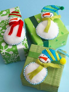 Fun-to-Make Christmas Snowmen Crafts from Better Homes and Gardens