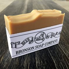 Bronson Beer Soap by BronsonSoapCompany on Etsy - Its a face and beard soap made with Guinness
