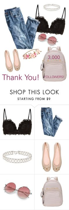 """""""Thank YOU! So much for your SUPPORT!"""" by ivyfanfic ❤ liked on Polyvore featuring Wacoal, J.Crew, Kate Spade and polyvoreeditorial"""