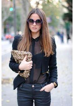 Camisa transparente preta com calça jeans http://vilamulher.terra.com.br/todo-mundo-pode-usar-transparencia-14-1-32-2139.html
