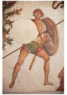 6th century Byzantine Roman mosaics