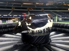 Add the thrill of a mechanical bull to your next event. Game On's bull includes western decor package and two attendants in matching western outfits. Coyote Ugly, Mechanical Bull, Before I Die, Western Decor, Summer Parties, Western Outfits, Interesting Facts, Stunts, Man Cave