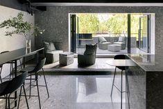 Luxury Restaurant Decor with Minimalist Furniture by MDDM Studio - InteriorZine