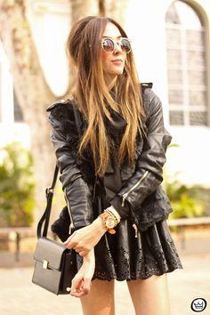 FashionCoolture - 06/25/2015 look du jour all black outfit Amaro (2)