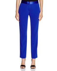 Diane von Furstenberg Genesis Pants in Cosmic Cobalt as seen on Nicole Scherzinger Nicole Scherzinger, Hailey Baldwin, Star Fashion, Kendall Jenner, Diane Von Furstenberg, Kim Kardashian, Celebrity Style, Pants For Women, Pajama Pants