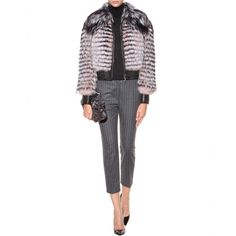 Alexander McQueen - Fox fur jacket - mytheresa.com GmbH