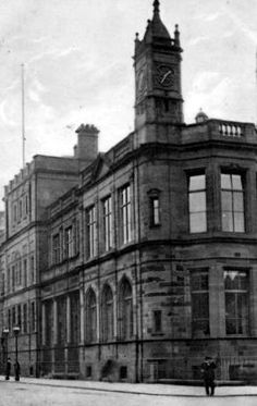 Old photograph of the Public Library in Perth, Perthshire, Scotland Old Photographs, Old Photos, Perth Scotland, Scottish People, Old Images, Kilts, Historical Photos, Libraries, Genealogy