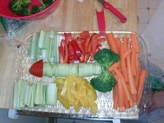 Penis veggie tray for a pure romance party!