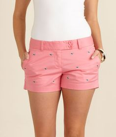 Vineyard Vines Embroidered Whale Dayboat Shorts
